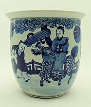 Chinese Qing Porcelain Blue&White; Urn