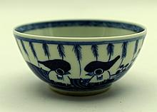 Chinese Qing Porcelain Blue&White; Cup