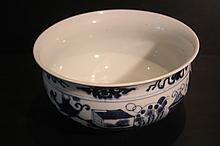 Chinese Qing Porcelain Blue&White; Incense Burner