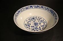 Chinese Qing Porcelain Blue&White; Bowl