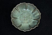 Chinese Song Porcelain Plate