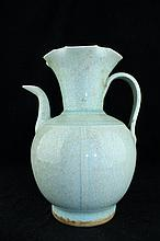 Chinese Song Porcelain Crackle TeaPot