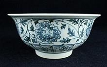 Chinese Qing Porcelain Blue&White; Bowl