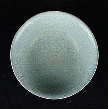 Chinese Song Porcelain Crakle GuanYao Bowl