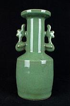 Chinese Qing Porcelain Long Quan Vase