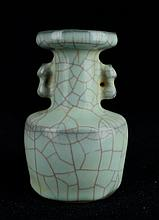 Chinese Song Porcelain Crackle Vase