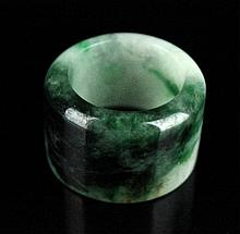 Chinese Neat Hand Carved Jade Ring
