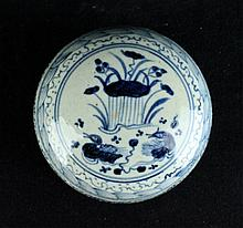 Chinese Qing Porcelain Box