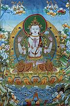 Chinese Tibet Tangka