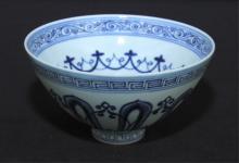 Chinese Qing Porcelain Blue&White Bowl