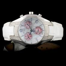 Polanti SS All Season 0.90ct Diamond Ladies Watch