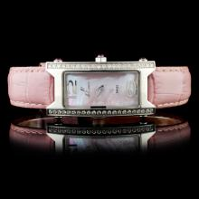 Polanti SS Tulip Diamond Wristwatch