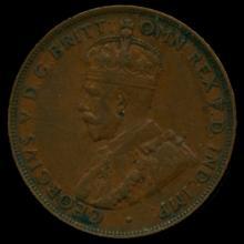 1924M Australia Large Penny Hi Grade XF BV $35