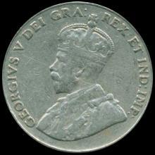 1926 Canada 5c Nickel VF/XF Far VARIETY