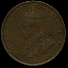 1926M Australia Large Penny Hi Grade VF BV $8