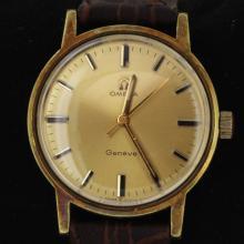 Omege Geneve Vintage 18k Goldfilled Watch