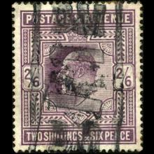 1902 Britain Edward 2s Stamp