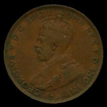 1922M Australia Large Penny Hi Grade VF BV $6