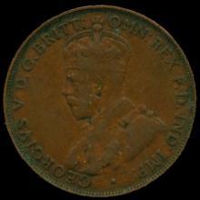 1923M Australia Large Penny Hi Grade VF BV $6