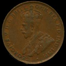 1926M Australia Large Penny Hi Grade XF BV $150