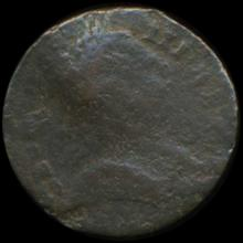 1774 Colonial Counterfeit George III Farthing