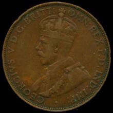1931M Australia Large Penny Hi Grade XF BV $125