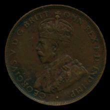 1919M Australia Large Penny Hi Grade XF BV $25