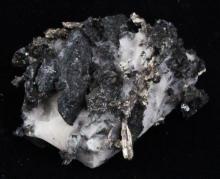 120ct RARE Natural Silver Crystal Cluster on Matrix
