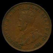 1921M Australia Large Penny Hi Grade UF BV $6