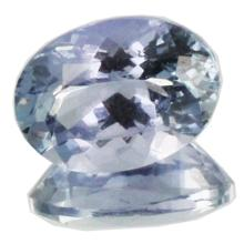 1.18ct Top Grade Blue Violet Tanzanite Appraised $708