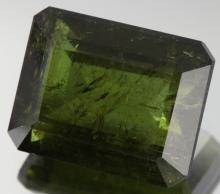12ct Green Tourmaline Emerald Cut