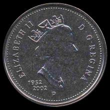 2002P Canada 5c Hi Grade GEM Unc