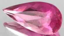 2ct Pink Tourmaline Pear Cut