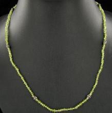 Peridot Necklace 51twc