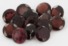 20.3ct Red Orange Garnet Parcel