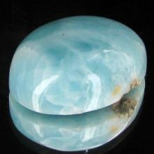 23.4ct Scarce Carribean Larimar Cabochon