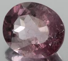 9.2ct Purple Tourmaline Oval Cut