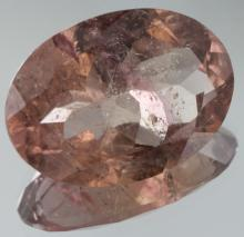 8.75ct Pink Tourmaline Oval Cut