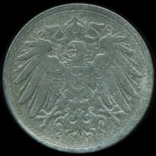 1922 Germany 10pf Unc Details