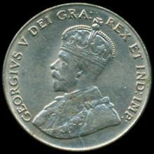 1928 Canada 5c Nickel MS63 Uncirculated