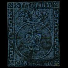 1852 Parma 40c Stamp