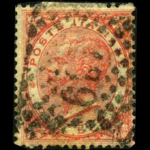1863 Scarce Italy 2L Stamp