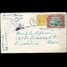 1930 US Special Delivery Postal Cover