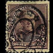 1893 US 5c Sherman Stamp