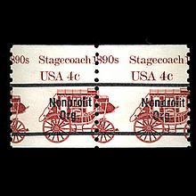 1982 Scarce US Postage Stamp ERROR Mint