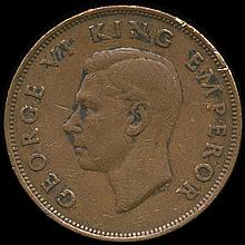 1942 New Zealand 1p VF/XF