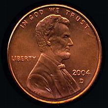 2004D Lincoln 1c MS68+ RED Hi Book Value