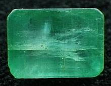 1.33ct Natural Green Colombian Emerald Appraised $1064