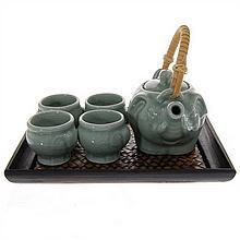 New Ceramic Elephant Tea Set