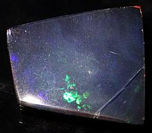 6.89ct Australian Black Opal Doublet HOT Fire